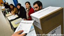 Argentinien Symboldbild Wahlen ARCHIV