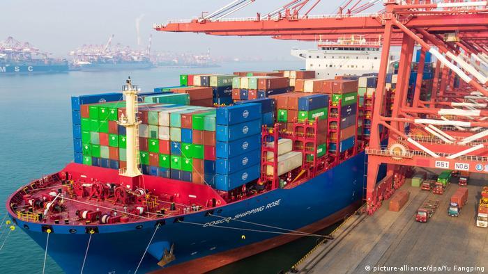 China Symbolbild Handelsüberschuss