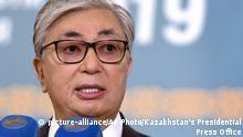 Kasachstan Tokajew bleibt Präsident