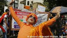 Feb. 24, 2019.*** Supporters and members of LGBT community participate in a queer pride parade in Ahmadabad, India, Sunday, Feb. 24, 2019. Homosexuality has gained a degree of acceptance in deeply conservative India over the past decade, particularly in big cities. (AP Photo/Ajit Solanki) |