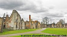 Frankreich Limiusin - Ruinen in Oradour-sur-Glane