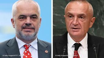 Kombibild - Edi Rama und Ilir Meta