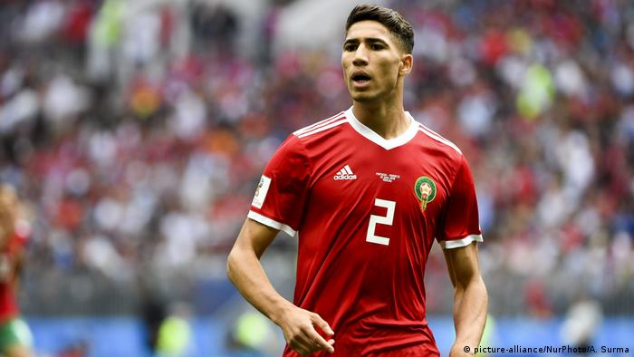 FIFA World Cup - Portugal v Marokko - Achraf Hakimi (picture-alliance/NurPhoto/A. Surma)