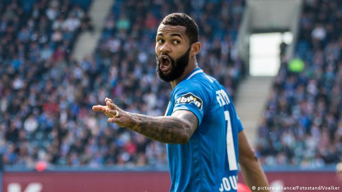 3. Liga - 18/19 - Hansa Rostock vs. SF Lotte - Cebio Soukou (picture-alliance/Fotostand/Voelker)