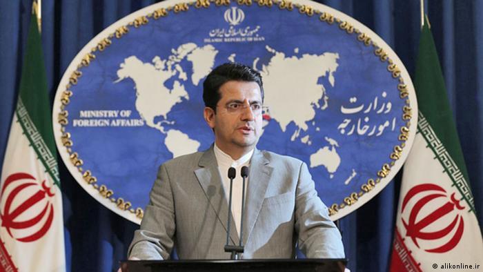 عباس موسوی، سخنگوی وزارت امور خارجه جمهوری اسلامی ایران