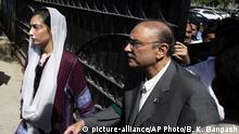 Pakistan | Ex-Präsident Asif Ali Zardari verlässt Gerichtsgebäude