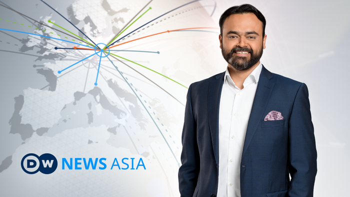 DW News Asia Moderator Biresh Banerjee (Artikelbild)