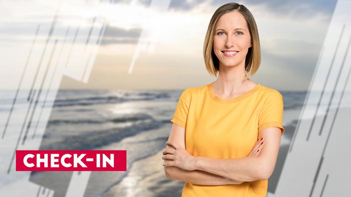 DW Check-in Moderatorin Nicole Frölich (Artikelbild)