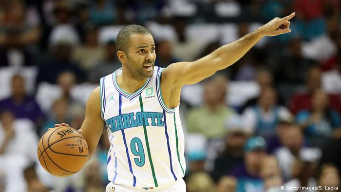 Charlotte Hornets Tony Parker (Getty Images/S. Lecka)
