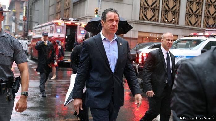 Helicopter crash in Manhattan, New York