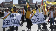 Bolivien Proteste (picture-alliance/AP Photo/J. Karita)
