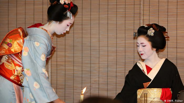 Japan's geishas (DW/R. Fisher)