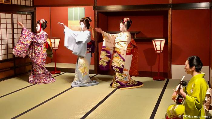Geishas 'never stop learning'