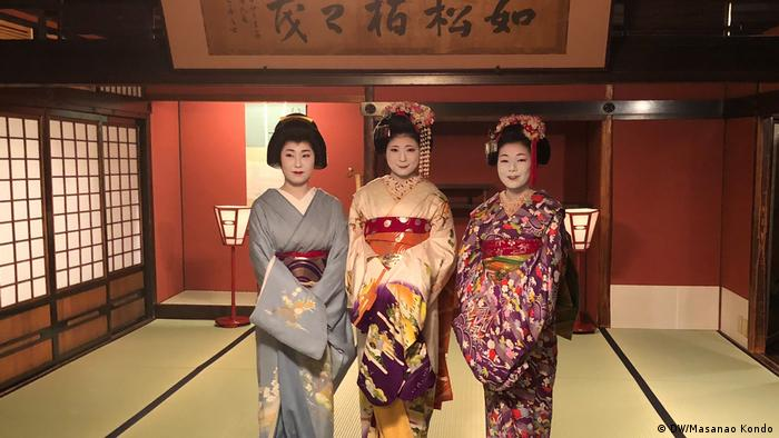 Geisha provide a window into traditional Japan