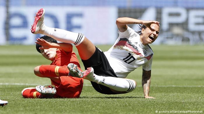 FIFA Frauen-WM 2019 | Deutschland - China | Dzsenifer Marozsan