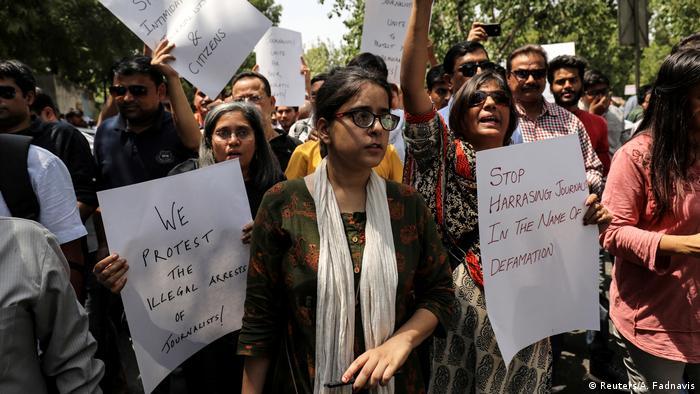 Jagisha Arora Ehefrau von Prashant Kanojia (Reuters/A. Fadnavis)