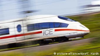 Немецкий скоростной поезд ICE