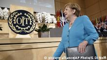 Internationale Arbeitskonferenz ILO Angela Merkel