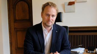 Мартин Муррак, глава департамента цифровизации в городской администрации Дуйсбурга