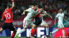 Fußball-Länderspiel Südkorea gegen Iran