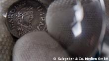 Coin in the Numismatic Collection at the Bode Museum in Berlin