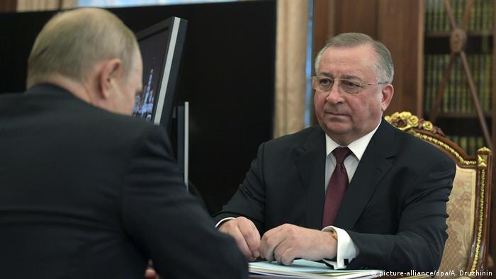 Николай Токарев у Владимира Путина