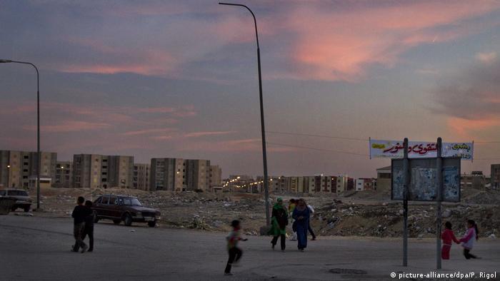 Syrische Flüchtlinge in Ägypten El Obour