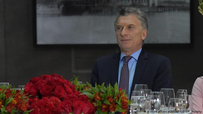 Präsident von Argentinien Mauricio Macri (picture-alliance/ZUMAPRESS/P. Murphy)