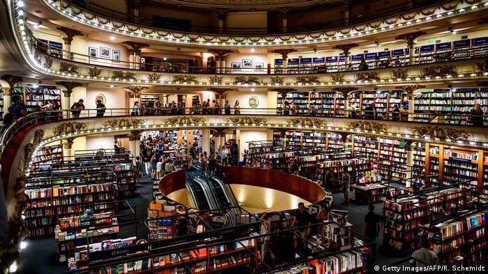 La librería El Ateneo Grand Splendid, en Buenos Aires.