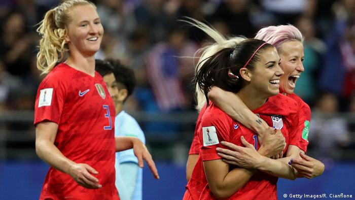 Women's World Cup - Group F - USA v Thailand (Getty Images/R. Cianflone)