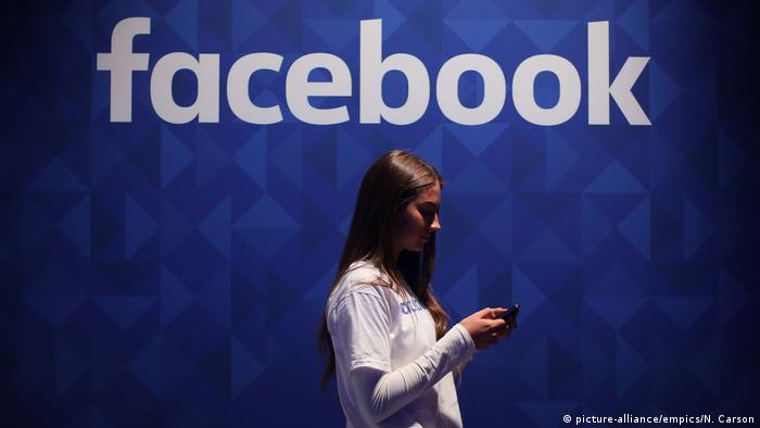 Social-Media-Studie - Facebook (picture-alliance/empics/N. Carson)