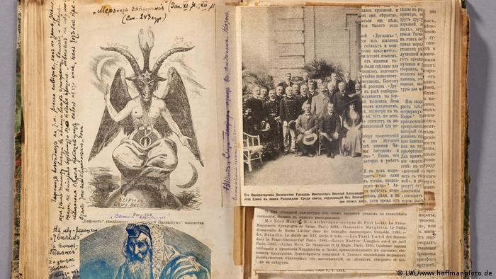 Pages from the book, Protocols of the Elders of Zion (LWL/www.hoffmannfoto.de)