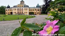 Deutschland Porzellan-Ausstellung im Schloss Belvedere in Weimar