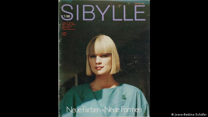 Cover of Sibylle magazine in 1986 (Joane-Bettina Schäfer)
