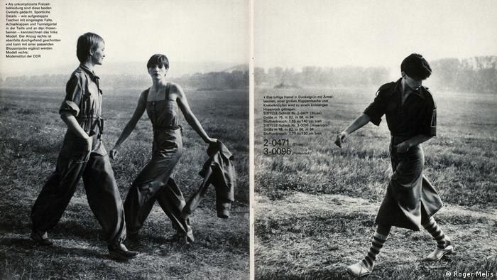Fotografien von Models in Overalls (Roger Melis)