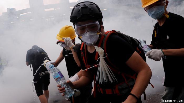 Hongkong Protest gegen Auslieferungen nach China & Ausschreitungen (Reuters/T. Siu)