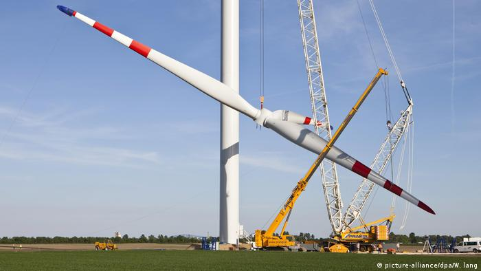 BG Windernergie | Windpark Glinzendorf (picture-alliance/dpa/W. lang)