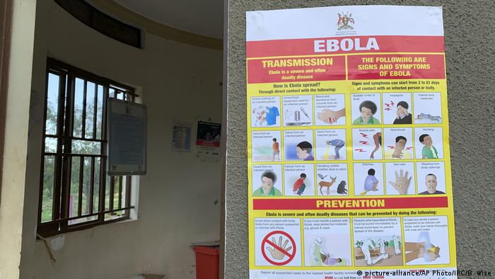 Uganda is taking measures to contain the virus, using posters