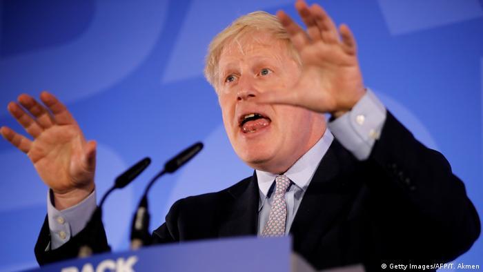 Großbritannien London - Boris Johnson started Kampaqne für Amt des Ministerpräsident