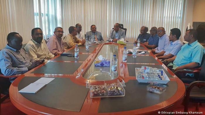 Sudan Khartoum Vermittlung von äthiopischen Botschafter Mohamoud Dirir