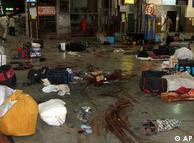 Cerca de 50 pessoas morreram na estação