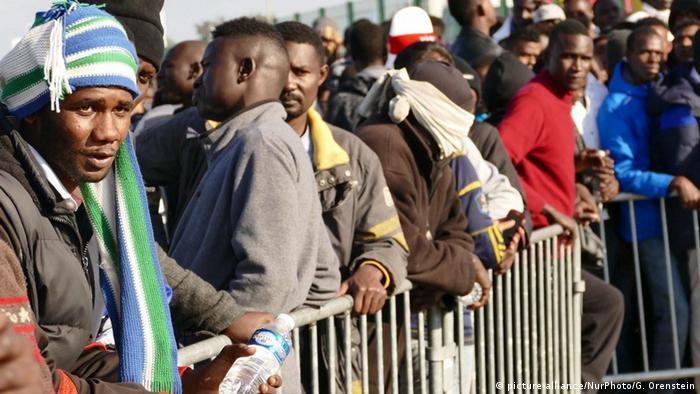 Γαλλία, Καλαί, μετανάστες, Σουδάν,