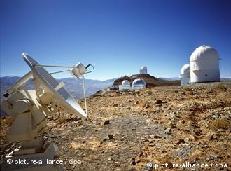 A view of the HARPS spectrograph in La Silla, Chile