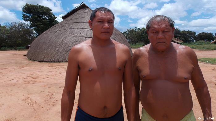 Indigene in Xingu, Brasilien
