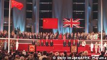 Hongkong 1997 | Zeremonie Übergabe Großbritannien an China