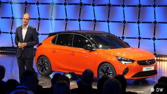 Михаэль Лошеллер представил электрический Opel Corsa-e осенью 2019 года