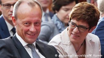 Berlin | Deutsch-Amerikanische Konferenz - Friedrich Merz und Annegret Kramp-Karrenbauer