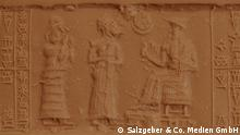 Some 5,000 years ago, people began to put their seal on documents and goods using finely carved cylinders (Salzgeber & Co. Medien GmbH)