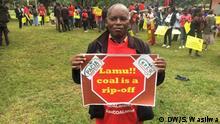 Kenia Lamu | Umweltaktivisten protestieren gegen Kohle