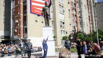 Kosovo Pristina Feierlichkeiten 20 Jahre NATO-Eingreifen (Office Kosovo Prime Minister)